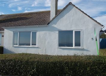 Thumbnail 2 bed semi-detached bungalow to rent in Pentillie, Mevagissey, St. Austell