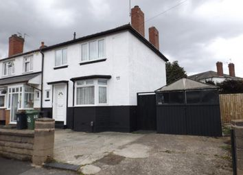 Thumbnail 3 bedroom end terrace house for sale in Stanbury Avenue, Wednesbury, West Midlands