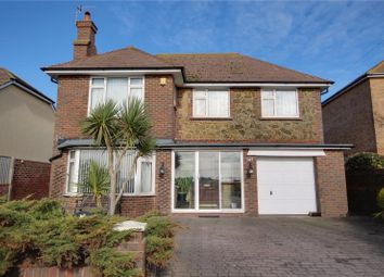 Thumbnail 4 bed detached house for sale in Brighton Road, Lancing, West Sussex