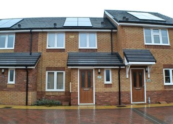 Thumbnail 2 bed terraced house to rent in St Francis Close, Hinckley, Leicestershire