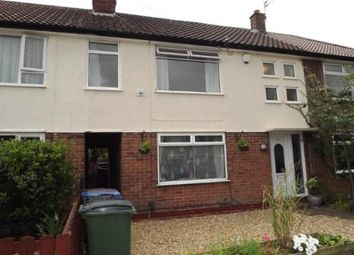 Thumbnail 3 bed terraced house for sale in Nevin Avenue, Cheadle Hulme, Cheadle, Greater Manchester