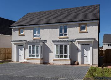 "Thumbnail 3 bedroom semi-detached house for sale in ""Edzell"" at Easter Langside Drive, Dalkeith"