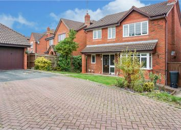 Thumbnail 4 bed detached house for sale in Nightingale Close, Droitwich