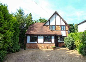Thumbnail 3 bedroom detached house for sale in Chertsey Road, Windlesham, Surrey