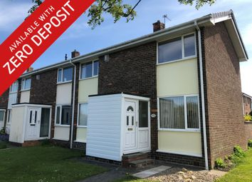 Thumbnail 2 bed end terrace house to rent in Wheatridge, Seaton Delaval, Tyne & Wear