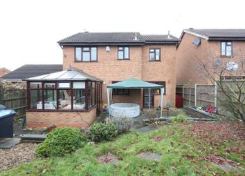 Thumbnail 4 bed detached house for sale in Benbow Close, Hinckley