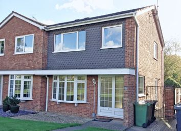 Thumbnail 3 bed semi-detached house for sale in Suffolk Close, Longthorpe, Peterborough