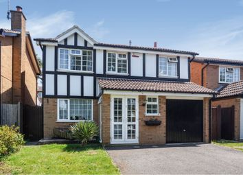 Thumbnail 4 bed detached house for sale in Marlowe Close, Northampton