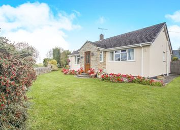 Thumbnail 5 bedroom detached bungalow for sale in Aller Drove, Aller, Langport