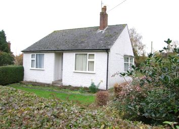 Thumbnail 3 bed detached bungalow for sale in Fairfield Road, Saxmundham