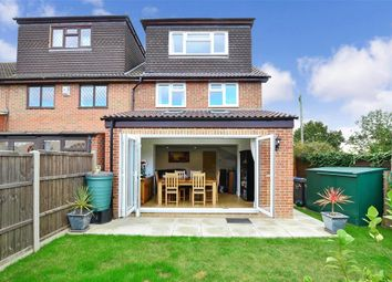 Thumbnail 4 bed end terrace house for sale in Bull Lane, Eccles, Aylesford, Kent