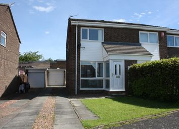 Thumbnail 2 bed semi-detached house to rent in Burnham Avenue, West Denton Park, Newcastle Upon Tyne
