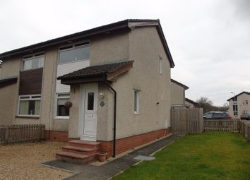 Thumbnail 2 bed semi-detached house for sale in Riverbank Drive, Mossend, Bellshill