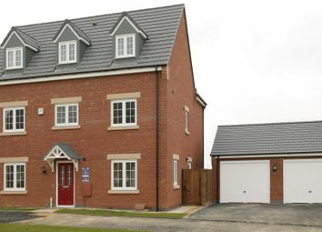 Thumbnail 6 bed detached house for sale in Off Hallam Fields Road, Birstall, Leicester