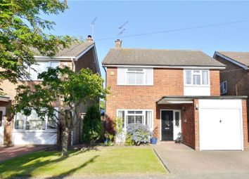 Thumbnail 4 bed detached house for sale in Plovers Mead, Wyatts Green, Essex