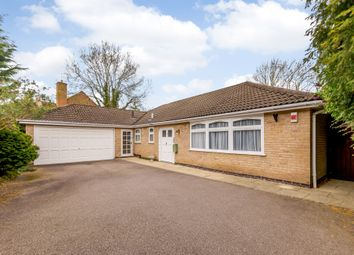 Thumbnail 3 bed bungalow for sale in St. Davids Crescent, Oadby, Leicester, Leicestershire