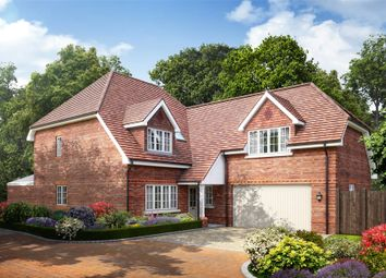 Thumbnail 4 bedroom detached house for sale in Larks Hill Place, Watersplash Lane, Warfield, Berkshire