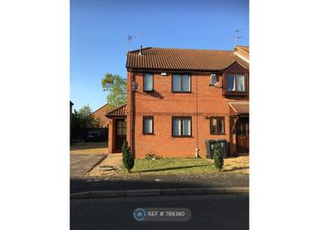 Thumbnail 2 bed semi-detached house to rent in Treen Close, Thrapston, Kettering