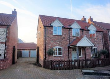 Thumbnail 4 bed detached house for sale in Bridleway Close, Nocton
