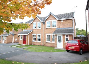 Thumbnail 3 bed terraced house for sale in Fairfax Close, Biddulph, Staffordshire