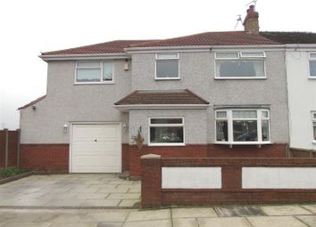 Thumbnail 4 bed semi-detached house for sale in Bradfield Avenue, Liverpool