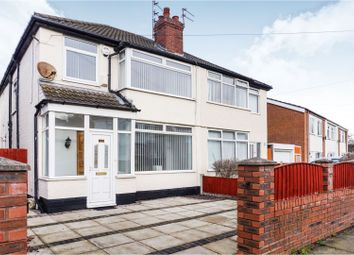 Thumbnail 3 bed semi-detached house for sale in Beldon Crescent, Liverpool