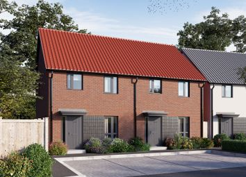 Thumbnail 3 bed end terrace house for sale in Blackthorn Lane, Cranbrook, Exeter