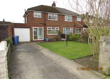 Thumbnail 3 bed semi-detached house to rent in Warren Close, Denton