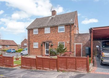 Thumbnail 2 bed semi-detached house for sale in Longfield Road, Winchester, Hampshire