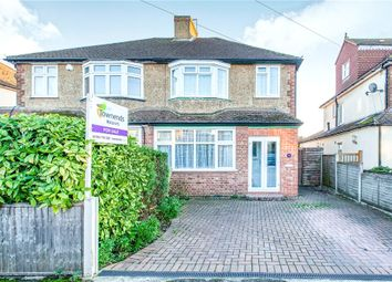 Thumbnail 3 bed semi-detached house for sale in Shortwood Avenue, Staines, Middlesex