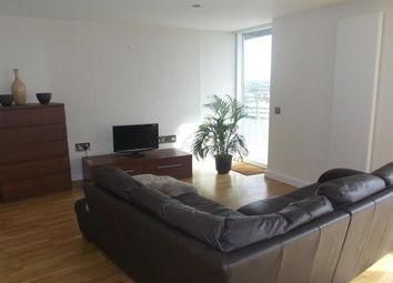 Thumbnail 2 bed flat to rent in N V Building, Salford Quays