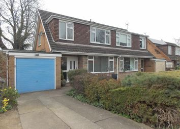 Thumbnail 3 bed semi-detached house for sale in Heather Crescent, Breaston, Derby