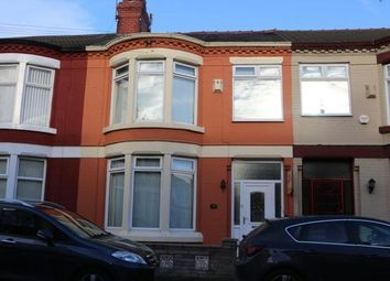 Thumbnail 3 bed terraced house to rent in Knoclaid Road, Tuebrook, Liverpool