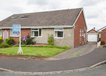Thumbnail 2 bedroom semi-detached bungalow for sale in Staveley Place, Silverdale, Newcastle-Under-Lyme