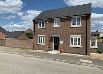 Thumbnail 3 bed detached house for sale in Rye Hill Drive, Sapcote, Leicester