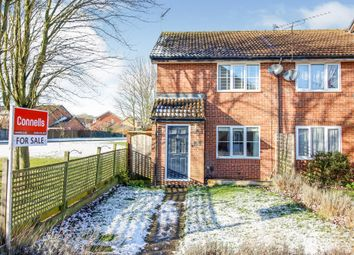 Syon Gardens, Newport Pagnell MK16. 2 bed end terrace house for sale