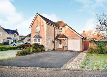 Thumbnail 4 bed detached house for sale in Petty Lane, Derry Hill, Calne