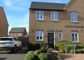 Thumbnail 2 bed semi-detached house for sale in Bluebell Green, Desford, Leicester