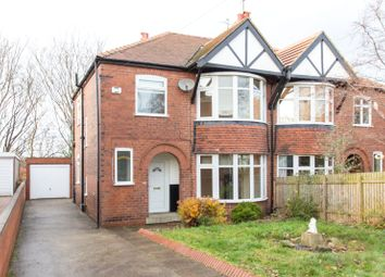 Thumbnail 3 bedroom semi-detached house for sale in Carrholm View, Leeds, West Yorkshire