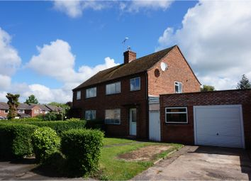 Thumbnail 3 bed semi-detached house for sale in St. Nicholas Road, Leamington Spa