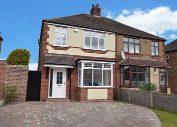 Thumbnail 3 bed semi-detached house for sale in Meadow Road, Albrighton, Wolverhampton, Shropshire