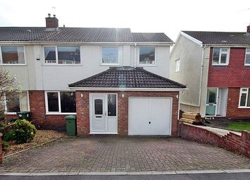 Thumbnail 3 bed semi-detached house for sale in Parkdale View, Llantrisant, Pontyclun, Rhondda, Cynon, Taff.