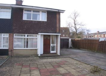 Thumbnail 3 bed property to rent in Winchester Drive, Branston, Burton Upon Trent, Staffordshire
