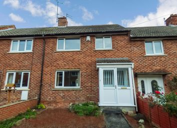 Thumbnail 3 bed terraced house to rent in Abbots Way, Morpeth