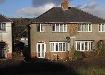 Thumbnail 3 bed semi-detached house for sale in Westfields, Llanidloes Road, Llanidloes Road, Newtown, Powys