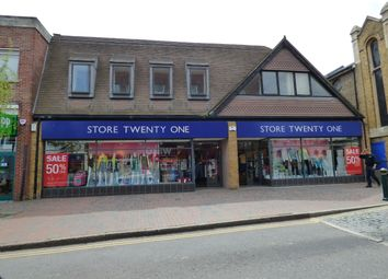 Thumbnail Retail premises for sale in High Street, Sittingbourne, Kent