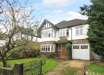 Thumbnail 4 bed detached house for sale in Pine Walk, Berrylands, Surbiton