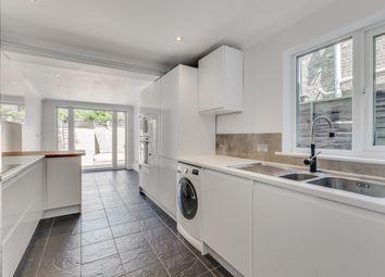 Thumbnail 3 bed terraced house to rent in Binns Road, London