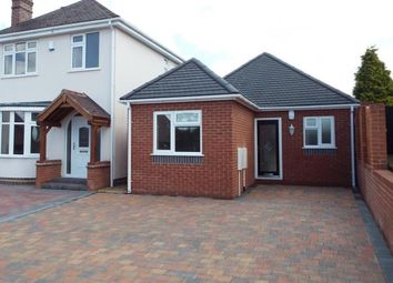Thumbnail 3 bed bungalow for sale in Littlewood Road, Walsall, West Midlands