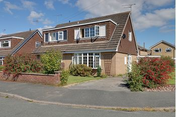 Thumbnail 2 bed semi-detached house for sale in Peckforton Close, Sandbach